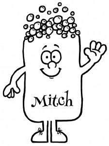 Mitch 10cm Tall