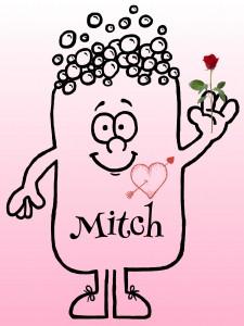 Mitch at a wedding