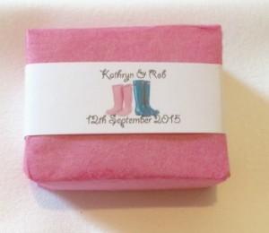 Wedding Favours Handmade Soap Bars